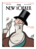The New Yorker Cover - February 13, 2012 Regular Giclee Print by Brett Culbert