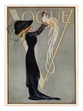 Vogue Cover - July 1910 Gicléedruk