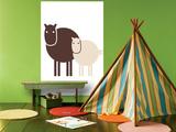Brown Baby Horse Affiches par  Avalisa