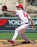 Dan Haren 2012 Action Photo