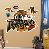 Rochester Rattlers Logo   Wall Decal