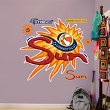 Connecticut Sun Logo   Wall Decal