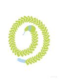 Green Snake Reproduction giclée Premium par  Avalisa