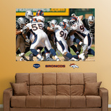 Broncos Defense Mural Wall Decal