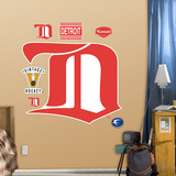 Detroit Red Wings Classic Logo Wall Decal