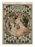 Vogue Cover - September 1906 Regular Giclee Print by Hugh Stuart Campbell
