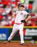 Mat Latos 2012 Action Photo