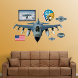 F-16 Falcon Wall Decal