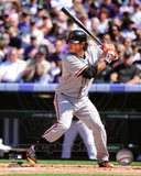 Brandon Crawford 2012 Action Photo