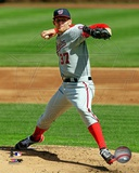 Stephen Strasburg 2012 Action Photo