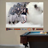 Brian Urlacher Entrance Mural Wall Decal