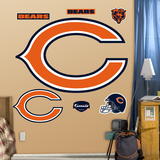 Chicago Bears C Logo Wall Decal