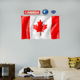 Canada Flag - logo sized   Wall Decal