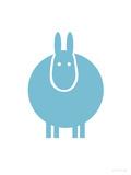 Aqua Donkey Plakater af Avalisa