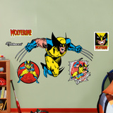 Classic Wolverine Wall Decal