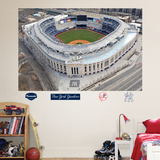 New York Yankees Aerial Stadium Mural Wall Decal