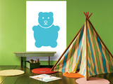 Aqua Bear Affiche par  Avalisa