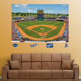 Kansas City Royals Kauffman Stadium Mural   Wall Decal
