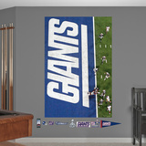 Giants SB Overhead TD Mural Wall Decal