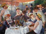 The Luncheon of the Boating Party Wall Decal by Pierre-Auguste Renoir