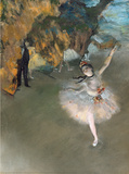 The Star Wall Decal by Edgar Degas