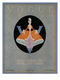 Vogue Cover - April 1918 Premium Giclee Print by Dorothy Edinger