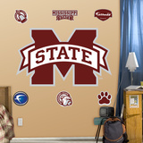 Mississippi State Logo Wall Decal