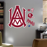 Alabama A&M Logo Wall Decal