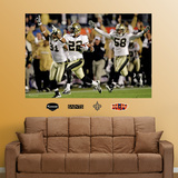 Saints Super Bowl Mural Wall Decal