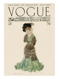 Vogue Cover - December 1906 Regular Giclee Print