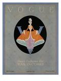 Vogue Cover - April 1918 Regular Giclee Print by Dorothy Edinger
