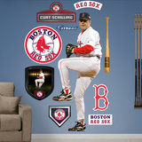 Curt Schilling Wall Decal