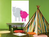 Fuschia Baby Horse Affiches par  Avalisa