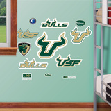 South Florida Jr. Logosheet Wall Decal