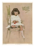 Vogue Cover - August 1910 Regular Giclee Print by F. Graham Cootes