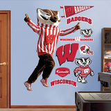 Wisconsin Bucky Badger Wall Decal