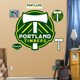 Portland Timbers Logo Vinilos decorativos