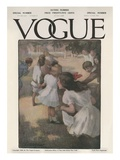 Vogue Cover - May 1908 Regular Giclee Print by Christine Wright