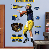 Tom Brady Michigan Wall Decal