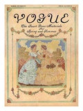Vogue Cover - May 1910 Regular Giclee Print by David Peirson