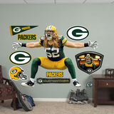 Clay Matthews Sack Celebration Wall Decal