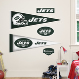 New York Jets NFL Pennant Wall Decal
