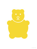 Yellow Bear Posters by  Avalisa