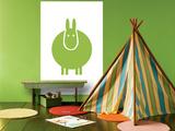 Green Donkey Affiches par  Avalisa