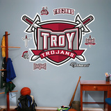 Troy University Logo Wall Decal