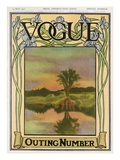 Vogue Cover - May 1907 Regular Giclee Print