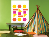 Warm Shapes Prints by  Avalisa