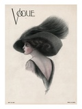 Vogue Cover - May 1910 Giclée-Premiumdruck von F. Rose