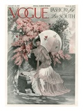 Vogue Cover - January 1910 Regular Giclee Print by  Mortimer