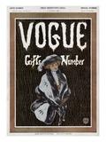 Vogue Cover - December 1908 Regular Giclee Print